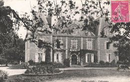 45 Tigy Cherupeau Chateau Cpa Cachet  1932 - Altri Comuni