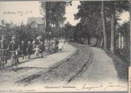 14 09/  13//  EKEREN 1903    INGANG NAAR ST MARIABURG       VEEL VOLK!!! - België