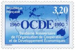 30e Anniversaire De L'O.C.D.E. Yvert & Tellier N°2673 - Neufs
