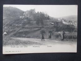 CP ALLEMAGNE DEUTSCHLAND (V2022) GRUSS AUS DER EIFEL (2 Vues) NEUERBURG Schloss - Nels, Metz Série 500 N°6 - Pruem