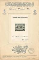 PRIVE - 1942 -  Feuillet Luxe Numéroté (18646) Avec PR 48-V (bloc Avec Variété Virgule Après K) ** (MNH) - Private & Local Mails