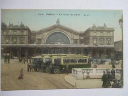 PARIS  -   GARE  DE  L ' EST        TTB - Métro Parisien, Gares