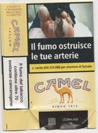 CAMEL  YELLOW SOFT ITALY BOX SIGARETTE - Tabaksdozen (leeg)