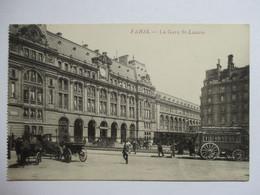 PARIS  -   GARE   SAINT-LAZARE        TTB - Métro Parisien, Gares
