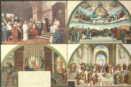 Lot De 39 CPA Tableaux Statues  Christiannisme - - Gemälde, Glasmalereien & Statuen