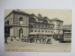 PARIS  -   GARE  MONTPARNASSE        TTB - Métro Parisien, Gares