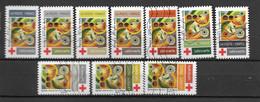 2020 - Croix Rouge -  Oblitéré - 3 - Adhesive Stamps