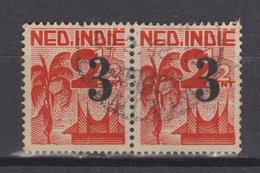 Nederlands Indie 322 Pair Used ; Verschillende Voorstellingen 1947 Netherlands Indies PER PIECE - Nederlands-Indië