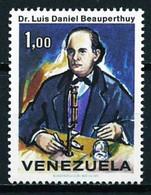 VENEZUELA 1971 - LUIS DANIEL BEAUPERTHUY - MEDICO - YVERT Nº 839** - Venezuela