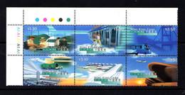 HONG  KONG    1998    Inauguration  Of  Hong  Kong  Airport    Set  Of  6    MNH - Unused Stamps