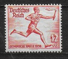 ALLEMAGNE    N° 569  *   Jo 1936 Torche - Summer 1936: Berlin