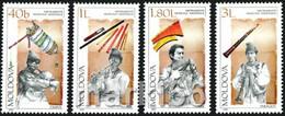 Moldova 2001, Musical Instruments, MNH Stamps Set - Moldova