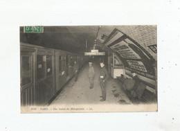 PARIS 1758 UNE STATION DU METROPOLITAINE 1912 - Métro Parisien, Gares
