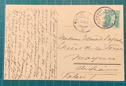 Suisse - Valais - Pierre à Voir (Valais) - 1913 - Rare Bureau Saisonnier - Brieven En Documenten