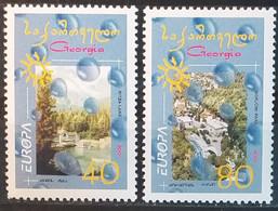 Georgia 2001 - Europa - MNH As Scan - Yvert 295/96 - Georgia