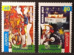 Georgia 2002 - Europa - MNH As Scan - Yvert 299/300 - Georgia