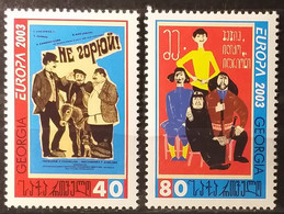 Georgia 2003 - Europa - MNH As Scan - Yvert 328/29 - Georgia