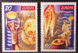 Georgia -  2005 - MNH As Scan - Food - 2 Stamps - Georgia