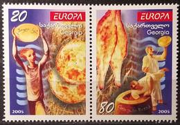 Georgia 2005 - Europa - MNH As Scan - Yvert 381/82 - Georgia