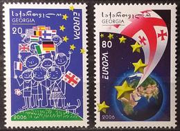 Georgia 2006 - Europa - MNH As Scan - Yvert 409/10 - Georgia