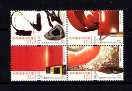 HONG  KONG    2002    Modern  Art    Set  Of  4    MNH - Unused Stamps