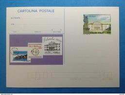 2000 ITALIA CARTOLINA POSTALE NUOVA NEW MNH** ALPE ADRIA MANIFESTAZIONE FILATELICA PASSARIANO VILLA MANIN - 6. 1946-.. Repubblica