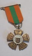 Medaille :Netherlands  -  Avondvierdaagse , ( Knblo .) - Paises Bajos