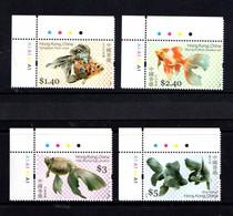 HONG  KONG    2005    Goldfish    Set  Of  4    MNH - Unused Stamps