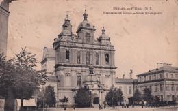 LITHUANIA. # 5436 VILNA. NIKOLAEVSKY CATHEDRAL. PRINT STATION. - Lituania