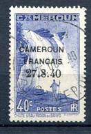 Cameroun - Yvert 217 - Surcharge Cameroun Français 27-8-40 - 2 Bouclé - T 1028 - Kamerun (1915-1959)