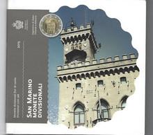 SAN MARINO EUROMUNTEN BU-set 2015 -  VOLLEDIGE REEKS - San Marino