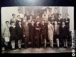 FOTO DI GRUPPO DEL 1929 - VITA DI SCUOLA - STUDENTI DI NON MEGLIO IDENTIFICATO ISTITUTO - Orte
