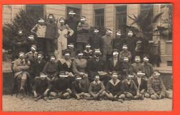 Milano 1919 Foto Di Classe Scuola Cesare Correnti Scolaires Escolares School Groups - Orte
