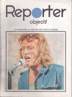 VP-PIE-T-GF-20-357 : REPORTER OBJECTIF PHOTO CINEMA. 1971. EN COUVERTURE JOHNNY HALLYDAY - Andere