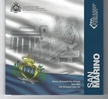 SAN MARINO EUROMUNTEN BU-set 2012 -  VOLLEDIGE REEKS - San Marino
