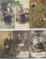 Lot De 30 Cartes Fantaisie  - Homme - 5 - 99 Cartoline