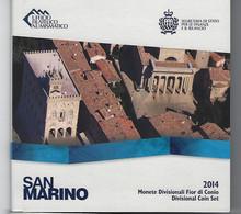 SAN MARINO EUROMUNTEN BU-set 2014 -  VOLLEDIGE REEKS - San Marino