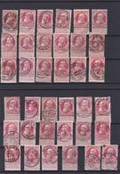 N° 74  Qualité Diverse  LOT D OBLITERATIONS - 1905 Grosse Barbe