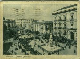 CATANIA - PIAZZA STESICORO - EDIZIONE ALTEROCCA - SPEDITA 1943 (BG6214) - Catania