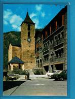 ANDORRE ANDORRA   ORDINO  Place Et Eglise  2 Scan - Andorra