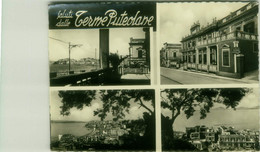 POZZUOLI - SALUTI DALLE TERME PUTEOLANE - VEDUTINE - EDIZIONE LEMBO - SPEDITA 1952 (BG6216) - Pozzuoli