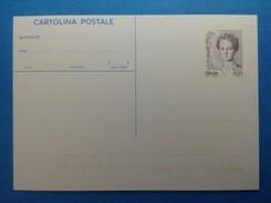 1999 ITALIA CARTOLINA POSTALE NUOVA NEW MNH** DONNE NELL'ARTE LIRE EURO DONNA - 6. 1946-.. Repubblica