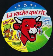 Etiquette Fromage La Vache Qui Rit 8 Portions Porties Gratis 1 Stocker Kidpaddle - Formaggio