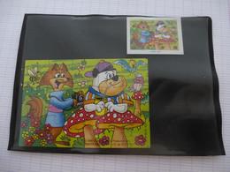 KINDER : PUZZLE  En Carton N° 123, Complet -  1996 - Détails Sur Le Scan - Puzzles