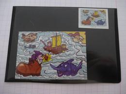 KINDER : PUZZLE  En Carton N° 122, Complet -  1999 - Détails Sur Le Scan - Puzzles