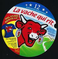 Etiquette Fromage La Vache Qui Rit 12 Portions Portionen  Hol Es Dir! Mérite Le! Le T-shirt Méga Branché - Formaggio