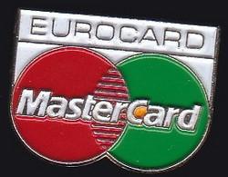 67104-Pin's. Eurocard.Mastercard.Banque. - Banks
