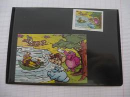 KINDER : PUZZLE  En Carton N° 123, Complet -  1999 - Détails Sur Le Scan - Puzzles