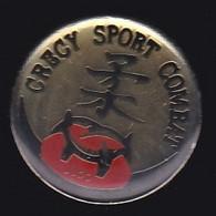 67147-Pin's. Judo.Crécy-en-Ponthieu . Somme, En Région Hauts-de-France - Judo