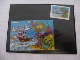 KINDER : PUZZLE  En Carton N° 120, Complet -  1999 - Détails Sur Le Scan - Puzzles
